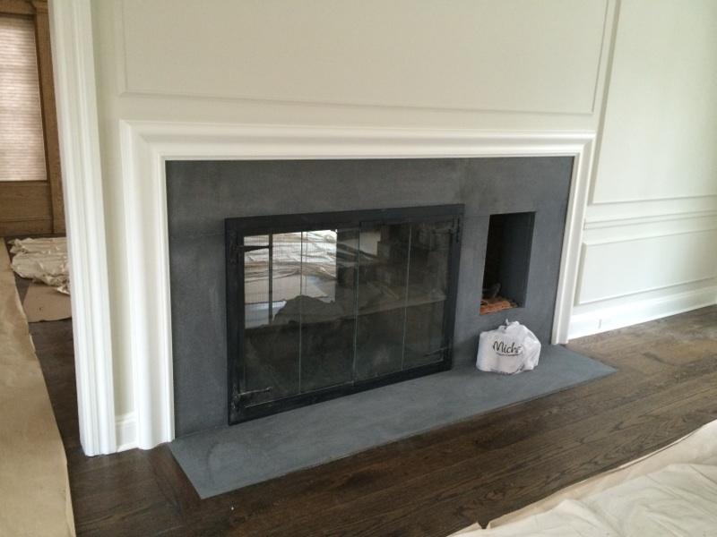 Flamed finish Absolute Black Granite