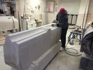 Indiana Limestone Sill for the New York Life Building