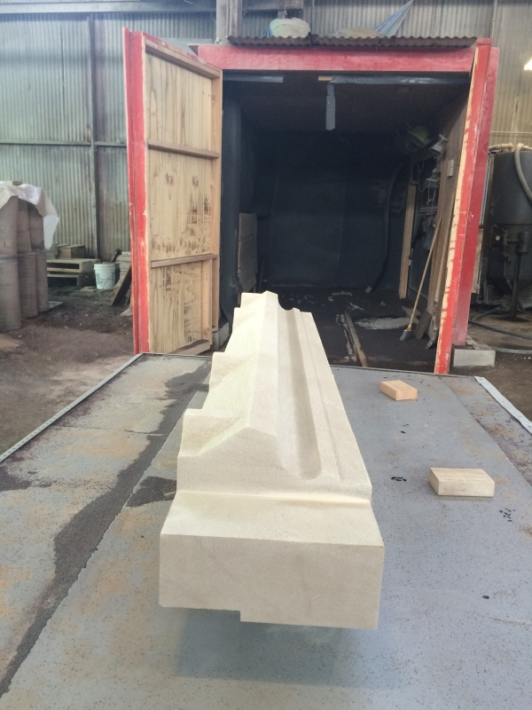 Lugged Lintel Stones for the New York Life Building