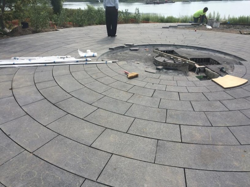 Cambrian Black Thermal Finished Granite