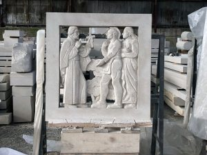 Petrillo stone carving project