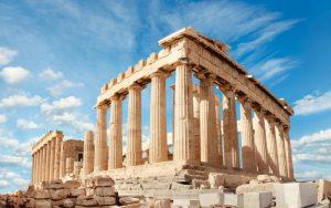 Acropolis Stonework in Greece